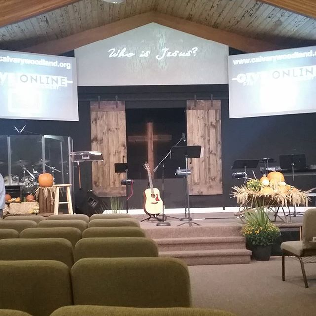 New look at church today.