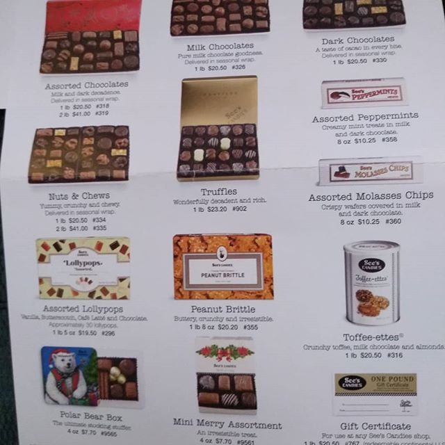 Friends & Family...Christa is selling candy as a fundraiser for gymnastics. Please let us know if you want to order some!